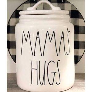 NEW Rae Dunn Mama's Hugs canister